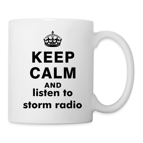 Tasse : Keep Calm And Listen to Storm Radio - Mug blanc