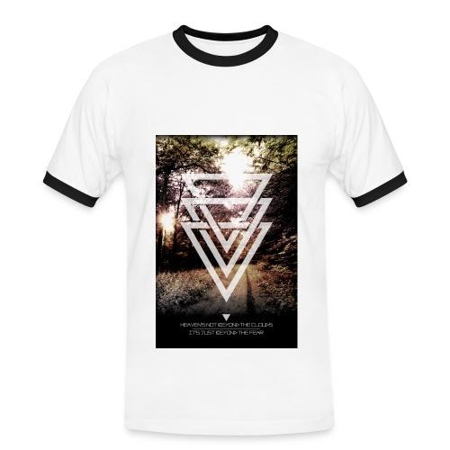 Mannen T-shirt - Mannen contrastshirt