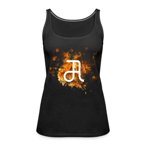 Glyphe Inferno Tank Top ♀ - Frauen Premium Tank Top