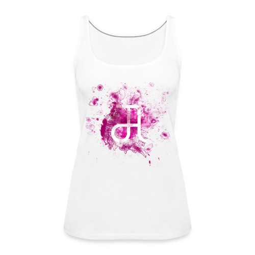 Glyphe Pink Tank Top ♀ - Frauen Premium Tank Top