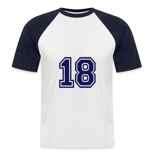 Mannen baseball T-shirt - Mannen baseballshirt korte mouw