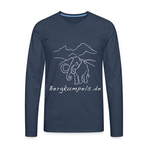 Bergkumpels.de Mammut - Männer Premium Langarmshirt