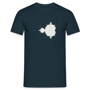 Mandelbrot Fractal T-Shirt (Centre) - Men's T-Shirt