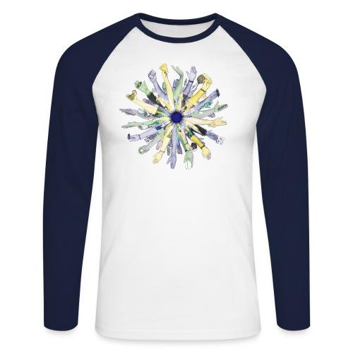 Bodhisttvha's Arms - Men's Long Sleeve Baseball T-Shirt