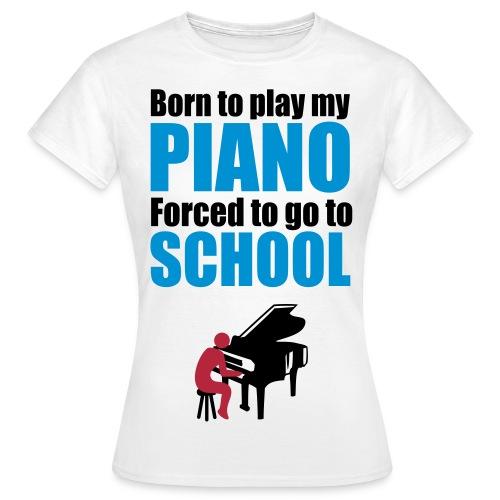 Piano - Sylvia - Women's T-Shirt