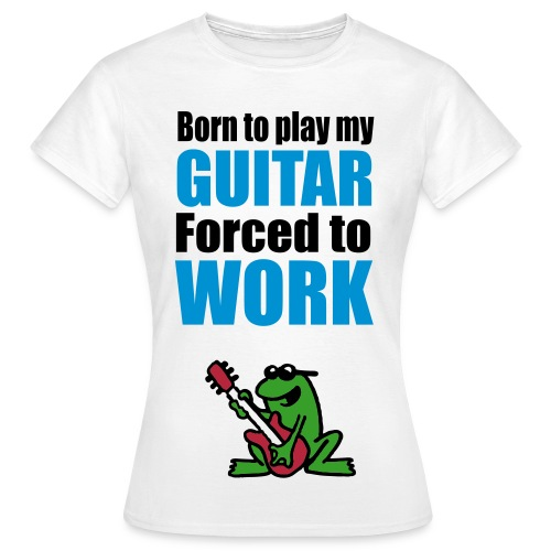 Guitar - Amie - Women's T-Shirt