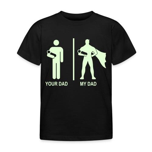 Pimeässä hohtava - Lasten t-paita