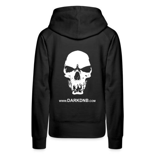 Dark DnB / Skull Women's Hoodie - Women's Premium Hoodie