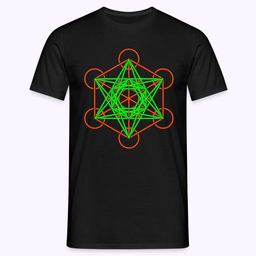 Metatron Cube 2-Color: Men Classic Shirt - T-shirt Homme