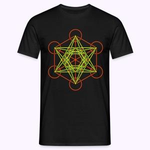 Metatron Cube 2-Color: Men Classic Shirt - Mannen T-shirt