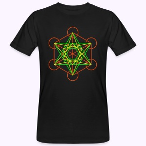 Metatron 2-Color Men's Bio Shirt - Mannen Bio-T-shirt