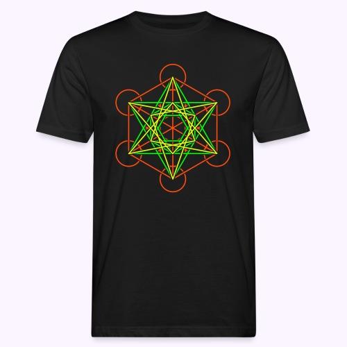 Metatron 2-Color Men's Bio Shirt - T-shirt bio Homme
