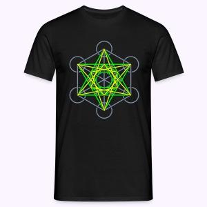 Metatron Cube 3-Color: Men Classic Shirt - Mannen T-shirt
