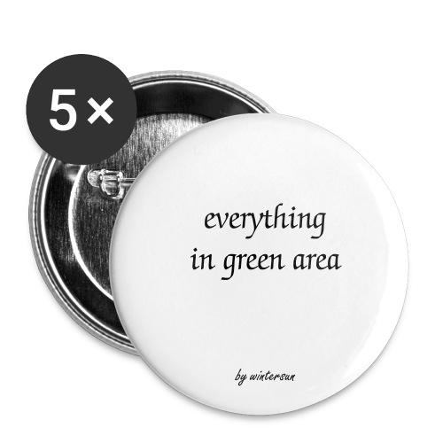 everything in green area - Buttons klein 25 mm (5er Pack)