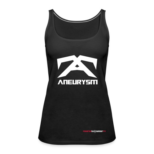 Aneurysm Tank Top Female - Women's Premium Tank Top