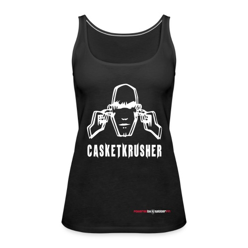 DJ Casketkrusher Tank Top Female - Women's Premium Tank Top