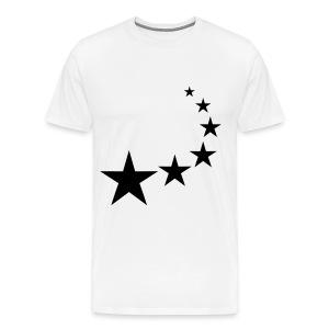 Mens premium T-Shirt with stars - Men's Premium T-Shirt