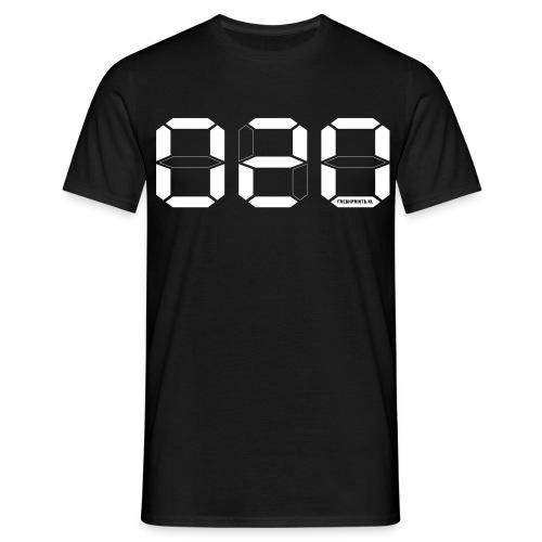 Digitaal 020 Amsterdam - Mannen T-shirt
