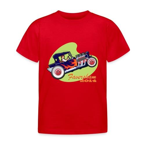 Faversham Transport  Hot Rod - Kids' T-Shirt