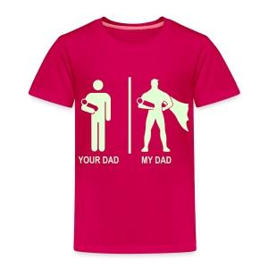 Pimeässä hohtava - Lasten premium t-paita