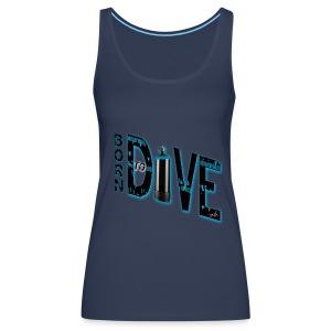 Born to dive - Frauen Premium Tank Top