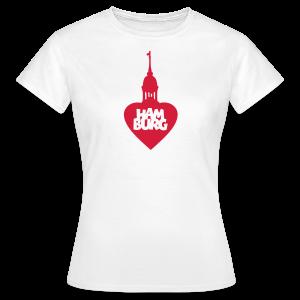 Hamburgherz T-Shirt - Frauen T-Shirt