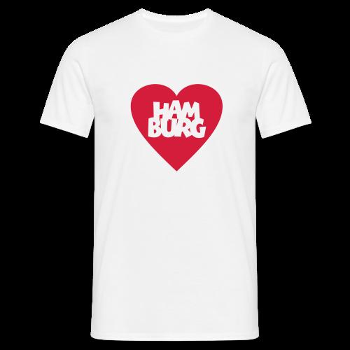 I love Hamburg T-Shirt - Männer T-Shirt