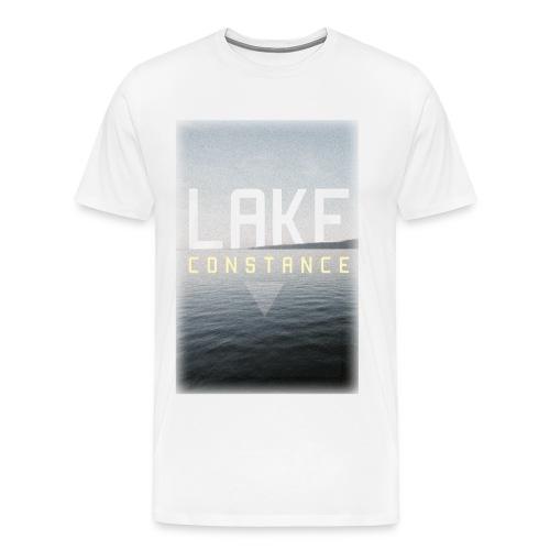 MEN SHIRT Lake Constance Print - Männer Premium T-Shirt