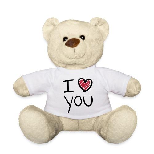 'I love you' teddy - Teddy Bear