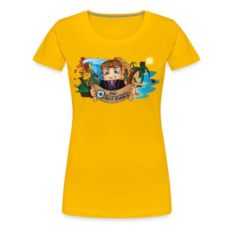 The Odyssey WOMEN - Women's Premium T-Shirt