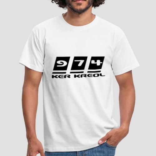 Tee shirt Homme 974 ker kreol - T-shirt Homme