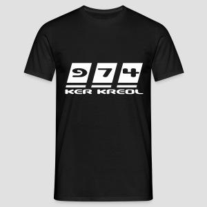 T-shirt Homme 974 ker kreol - T-shirt Homme