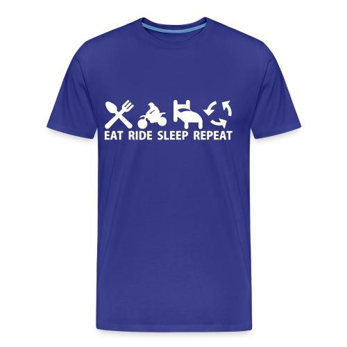 MX Tee - Premium-T-shirt herr