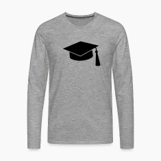 graduation hat Long sleeve shirts