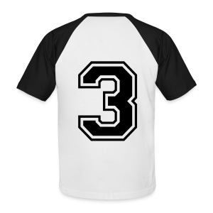 Tee-shirt number 33 - T-shirt baseball manches courtes Homme
