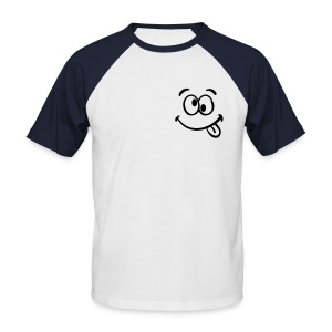 Tee-shirt smile - T-shirt baseball manches courtes Homme