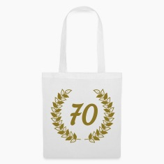 seventieth birthday Bags & Backpacks