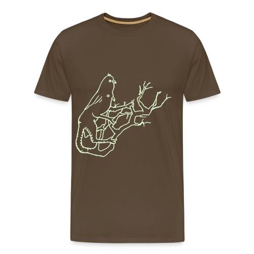 Der leuchtende Vogel der Erkenntnis - Männer Premium T-Shirt
