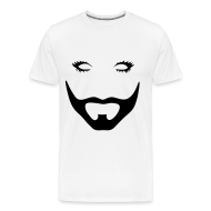 Tee shirts ~ Tee shirt Premium Homme ~ Barbe (droit)