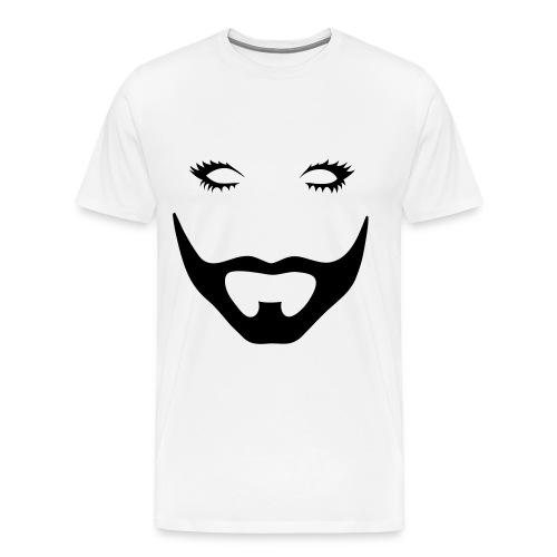 Barbe (droit) - T-shirt Premium Homme