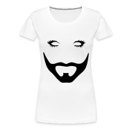 Tee shirts ~ T-shirt Premium Femme ~ Barbe (cintré)