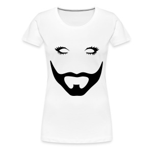 Barbe (cintré) - T-shirt Premium Femme