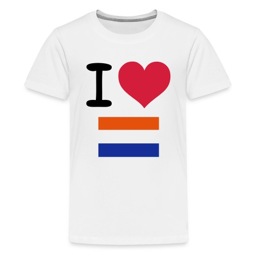 I love the Netherlands - Teenage Premium T-Shirt