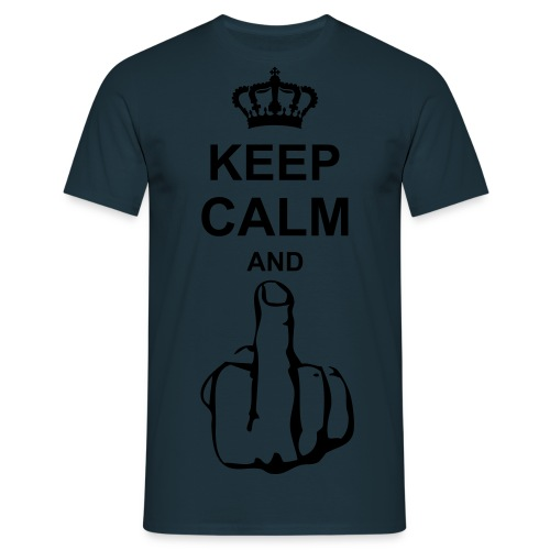 Keep Calm & Fuck  - T-shirt Homme