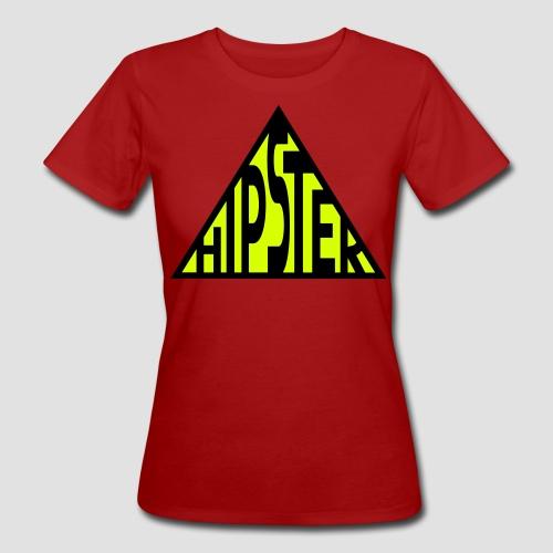 HIPSTER Dreieck LOGO  - Frauen Bio-T-Shirt