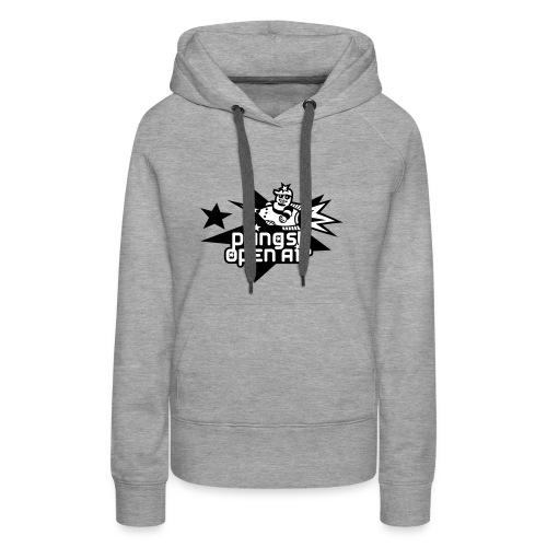 POA Hoodie for Girls - Design Rakete - Frauen Premium Hoodie