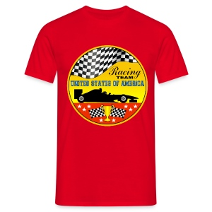 US Racing Team - Men's T-Shirt