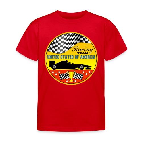 US Racing Team - Kids' T-Shirt