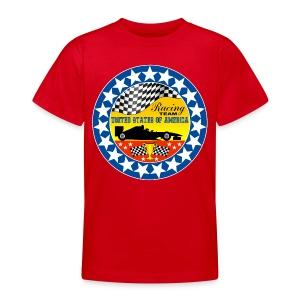 US Racing Team - Teenage T-shirt