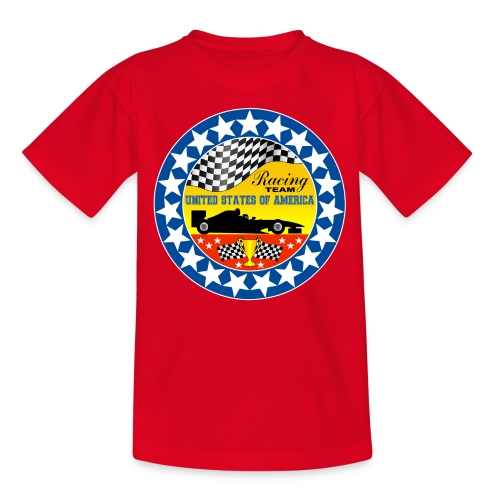 US Racing Team - Teenage T-Shirt